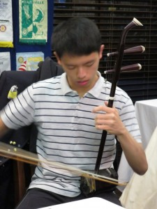 2015-10-04 - Radar playing Erhu