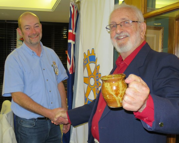 Rolf and Stan Swarbrick of Narooma Probus